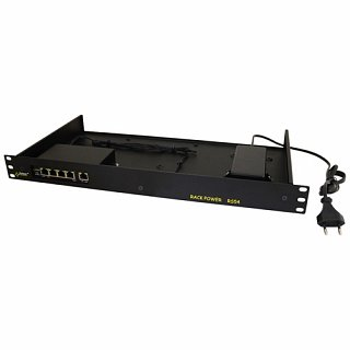 Switch PoE Pulsar RS54 - 5 portowy, 4 porty PoE 802.3af, do szafy rack 19""