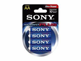 Bateria alkaliczna SONY Stamina Plus LR6/AA - 4szt. (blister)