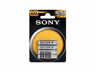 Bateria cynkowa SONY R3/AAA - 4szt. (blister)