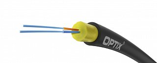 Kabel światłowodowy OPTIX AirFlow S-QOTKSdD Drop 2J 2x9/125 ITU-T G.657A2 - 1m