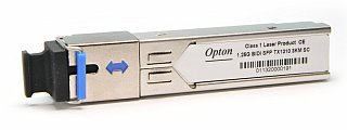 Moduł SFP miniGBIC OPTON WDM, TX1310 1.25Gbps, SM, SC, 3km, DDM