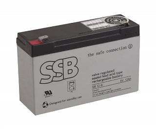 Akumulator bezobsługowy SSB SB 12-6 6V 12Ah