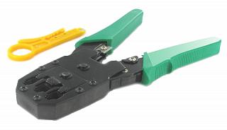 Zaciskarka HY-200 RJ45/RJ12/RJ11 + ściągacz izolacji gratis!