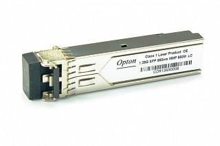 Moduł SFP miniGBIC OPTON DF 1.25Gbps, MM, LC, 550m
