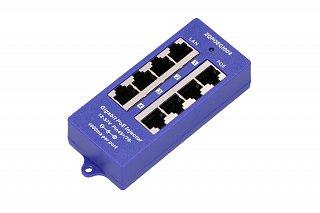 Adapter PoE Gigabit Extralink - 4 porty LAN, 4 porty PoE
