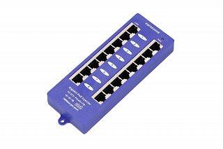 Adapter PoE Gigabit Extralink - 8 portów LAN, 8 portów PoE