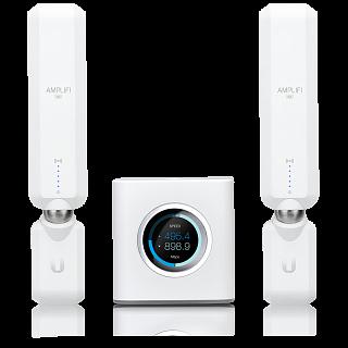 Ubiquiti Networks AmpliFi HD - zestaw Router + 2x MeshPoint