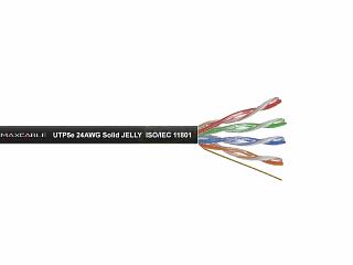 Kabel UTP MAXCABLE zewnętrzny, żelowany Cu kat. 5e 100m