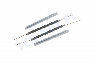 Osłonki spawów 45mm (fi 2.8mm) - termokurczliwe - 100 sztuk