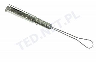 Uchwyt odciągowy do kabla płaskiego Telcom PA-FTTX-FLAT-BIG 4K (SS201)