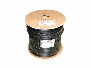 Kabel UTP MAXCABLE zewnętrzny, z linką nośną, żelowany Cu kat. 5e 305m