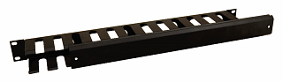 """Organizer kabli 19"""" Pulsar RAOK-1M - poziomy, metalowy, zamykany"""