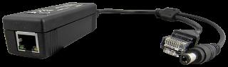 Splitter PoE Pulsar SP-POE12 - 48V -> 12V 1A - 10/100Mbit