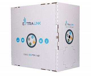 Kabel FTP Extralink kat. 5e Outdoor V2 305m (zewnętrzny)