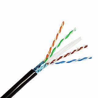 Kabel FTP Madex kat. 6 Outdoor 1m (zewnętrzny, żelowany)