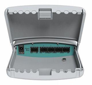 RouterBoard FiberBox (CRS105-5S-FB) + licencja level 5