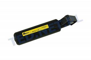 Ściągacz izolacji do kabli światłowodowych Miller RCS-114 (4.5-29mm)