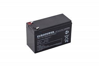 Akumulator bezobsługowy EUROPOWER EP 7,2-12 (12V 7,2Ah)