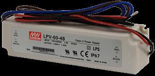 Zasilacz MeanWell LPV-60-48 48V 1,25A 60W IP67