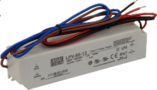 Zasilacz MeanWell LPV-60-12 12V 5A 60W IP67