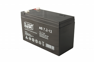 Akumulator bezobsługowy megaBAT MB 7.2-12 (12V 7,2Ah)