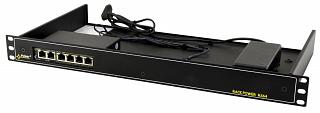 """Switch PoE Pulsar RS64 - 6 portowy, 4 porty PoE 802.3af, do szafy rack 19"""""""
