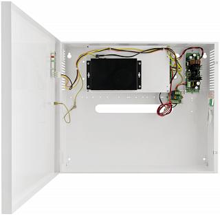 Switch PoE Pulsar S64-B17 - 6 portowy, 4 porty PoE 802.3af, w obudowie, z podtrzymaniem bateryjnym