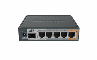 RouterBoard 760iGS (hEX S) + lic. level 4 + zasilacz