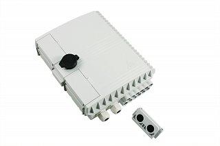 Przełącznica nasłupowa Tracom MDU C12 - 2 wejścia, 12 wyjść