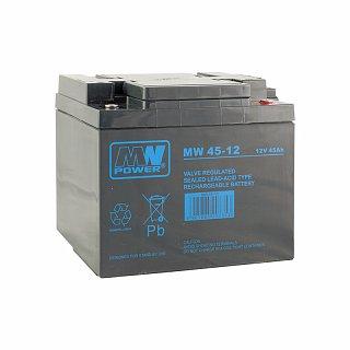 Akumulator bezobsługowy MeanWell MW 45-12 (12V 45Ah)