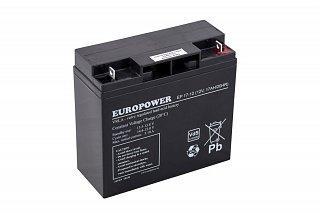 Akumulator bezobsługowy EUROPOWER EP 17-12 (12V 17Ah)