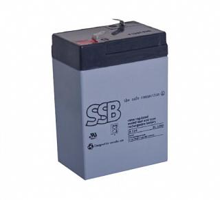 Akumulator bezobsługowy SSB SB 5-6 6V 5Ah