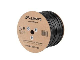 Kabel FTP Lanberg kat. 5e zewnętrzny 305m
