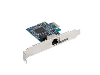 Karta sieciowa Lanberg PCE-1GB-001 1Gbit, PCI Express, Low Profile