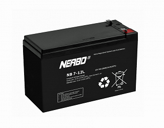 Akumulator bezobsługowy Nerbo NB 7-12L (12V 7Ah)