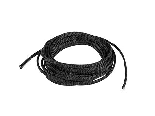 Oplot na kable 6mm (3-9mm), czarny, poliester Lanberg ORG02-ES-B005-06 - 5m