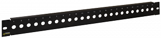 "Patch panel 19"" Pulsar RAP-F 24 porty F, pusty"