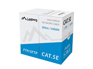 Kabel FTP Lanberg kat. 5e 305m (Al/Cu)