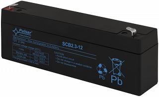 Akumulator bezobsługowy Pulsar SCB2,3-12 (12V 2,3Ah)