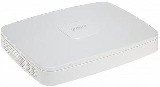 Rejestrator IP Dahua NVR4116-8P-4KS2 - 16-kanałowy, switch PoE 8-portowy, do 8Mpix, H.265+, 1xSATA, P2P