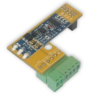 Modbus RTU – nakładka z konwerterem RS485 (dla Kontrolera LAN w wersji 3.7)