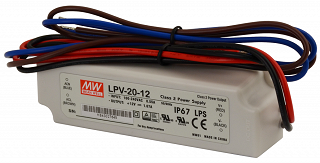 Zasilacz MeanWell LPV-20-12 12V 1,67A 36W IP67