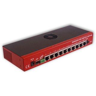 Switch zarządzalny 10 portów Gigabit PoE 1SFP10G