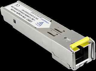 Moduł SFP miniGBIC Pulsar GBIC-104 WDM, TX1550, 1.25Gbps, SM, SC, 20km, DDM