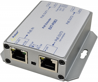 Extender PoE Pulsar EXT-POE3 - 1x PoE IN, 3x PoE OUT