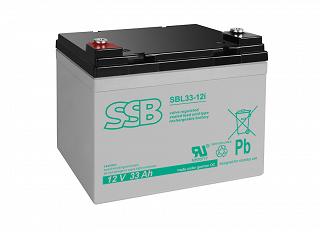 Akumulator bezobsługowy SSB SBL 33-12i 12V 33Ah